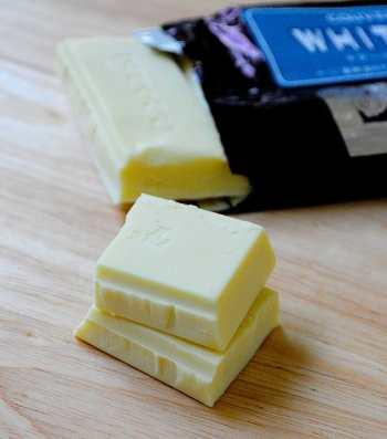 Кексы с белым шоколадом и гранатами
