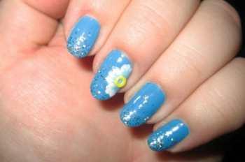 Гламурный дизайн ногтей