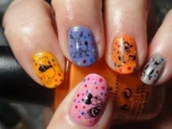 Изобретательный дизайн ногтей