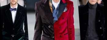 Тенденции мужской одежды: бархатные пальто и жакеты осенне-зимнего сезона 2012-2013