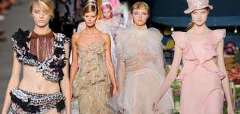 Рюши и оборки - модный женственный тренд 2012