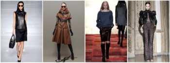 Кожаная одежда снова в моде :: Мода :: JustLady